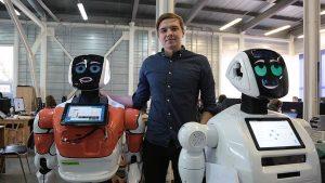 Сервисные роботы на службе у человека