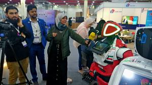 Бизнес на аренде роботов для выставок. Промобот в Кувейте