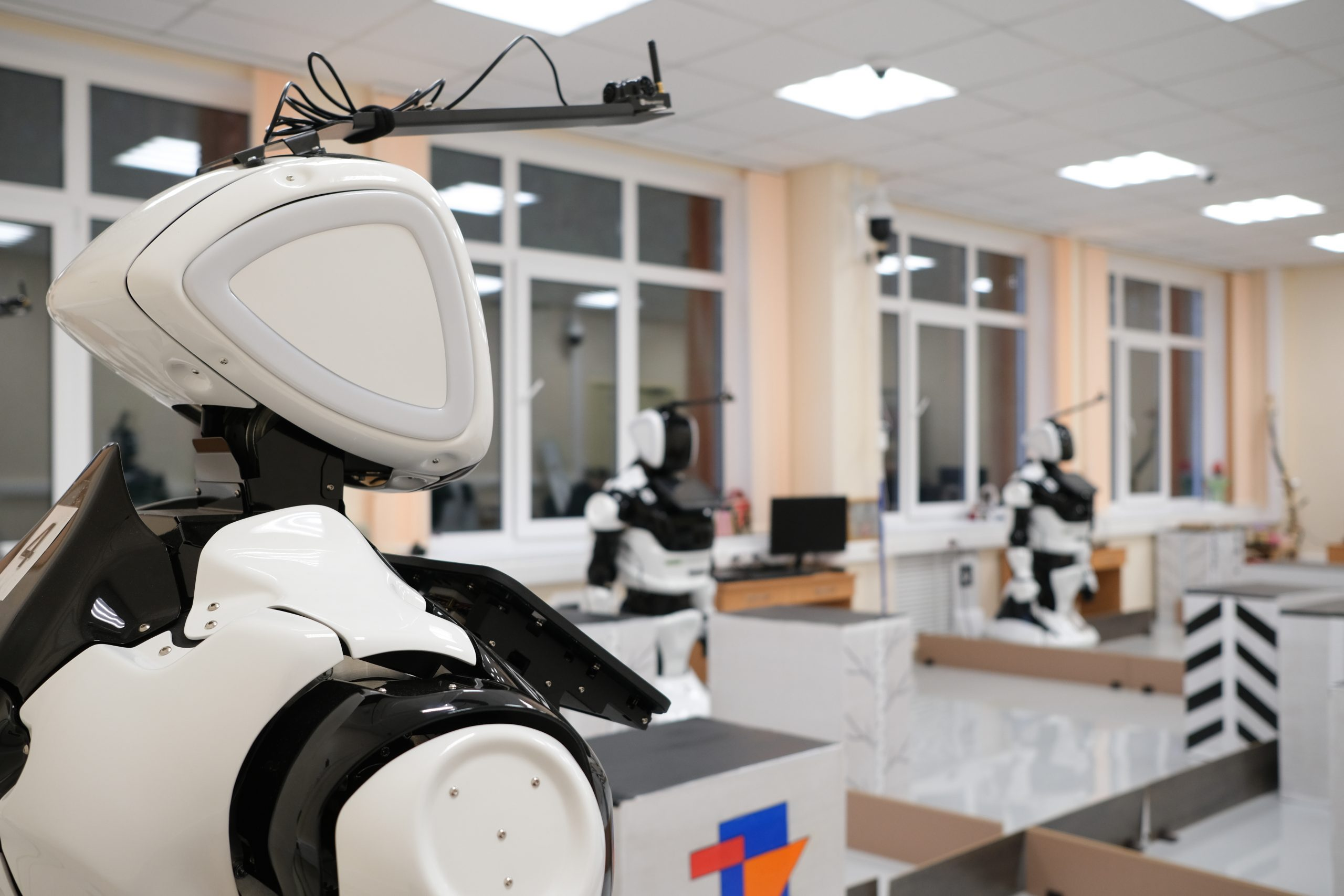 Лаборатория сервисной робототехники Promobot в ПНИПУ